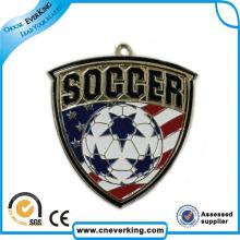 Emblema do botão da lata das promoções da propaganda da parte traseira do Pin de segurança do metal