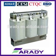 Reactor de transformador de energia solar de 3 fases para sistema fotovoltaico