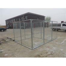 10 FT X10 FT X 6 FT Chain-Link Dog Kennel, Good Quality Big Dog Cage, Dog Kennel, Wire Mesh Pet Cage Dog Kennel