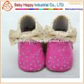 Новые роскошные мягкие кожаные мальчики девочки мальчики обувь 0-6 6-12 12-18 18-24 M