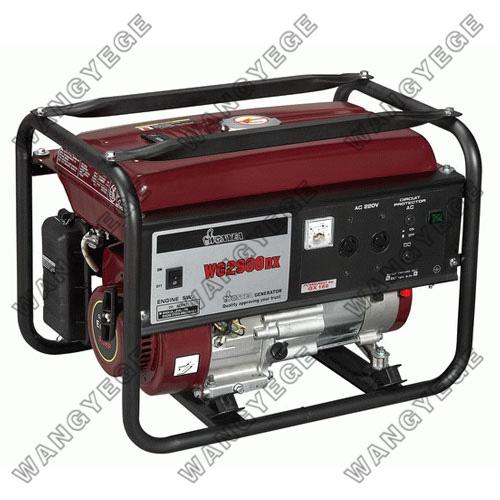 Generador de gasolina con motor de we168f y salida - Generador de gasolina ...