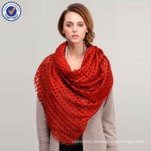Brand New Design große Größe aushöhlen Mongolei Wolle Schal D110041