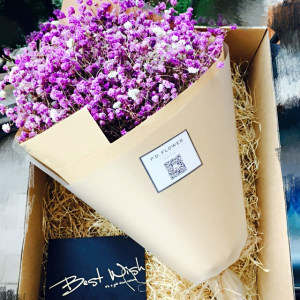 Foldable Flower Box Corrugated Paper