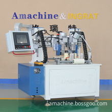 Two-axis thermal break assembly CNC knurling machine