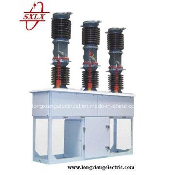 Zw7-40.5 Disjuntor de vácuo HV exterior com mecanismo de operação central