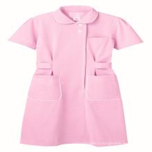 Couleur rose Polyester / Coton pour tissu uniforme médical