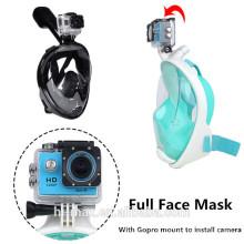 Hecho en China máscara de buceo profesional para adultos y niños