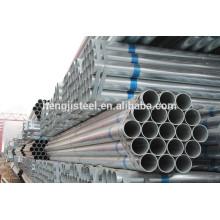 Tubos de acero galvanizado de carbono y tubo