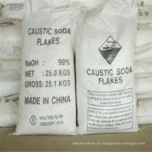 Fábrica directamente perlas / escamas 99% soda cáustica