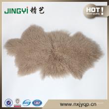 Uso en el hogar y material de oveja piel de piel de cordero del Tíbet de Mongolia