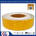 PVC-Honeycomb Muster Auffälligkeit gelb reflektierende Sicherheit Band (CG3500-OY)