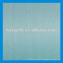 Traverser le rouleau de tissu non-tissé de pulpe de bois de polyester viscose de recouvrement / parallèle