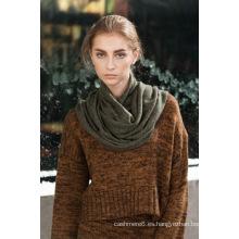 Suave cálido 100% cachemira colorida bufanda china