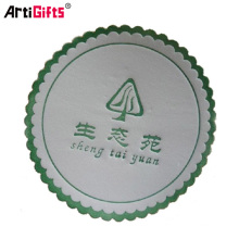Custom promotion gift absorbent paper coffee coaster