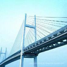 Ponte pré-fabricada de estrutura de aço projetada