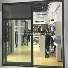 Aluminium Shutter Inside Glass Panel Door