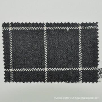 Tissu de laine de fil de torsion forte laine de qualité supérieure