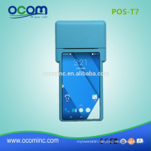 POS-T7 Long distance handheld android pos terminal price