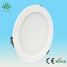 Shenzhen forma redonda blanca 100-240v delgado 6 pulgadas smd5730 lámpara del calor del techo del cuarto de baño 15w