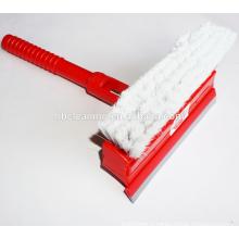Grattoir à glace à lame large avec brosse douce
