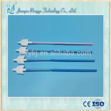 Escoba ginecológica en forma de cito cepillo