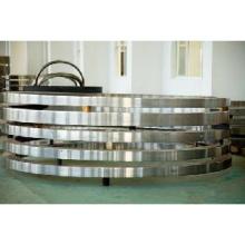 Anéis laminados sem costura até um diâmetro externo máximo de 5 metros