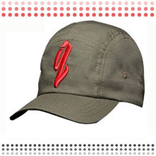 Alta qualidade moda preto 6 painel boné de beisebol para venda
