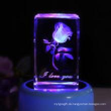 Innere Rose mit LED Lampenhalter