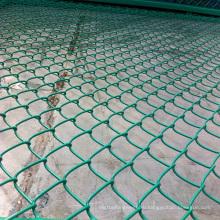 ПВХ Используется Цепь ссылка Забор для продажи