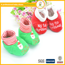 Wholesale shoes baby moccasins hot sale christmas first step winter