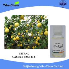 Pure Natural Citral 97% CAS 5392-40-5