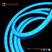 IP68 Водонепроницаемый Flex светодиодный свет веревки RGB Неон