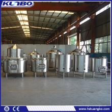 Fermenteur de bière en acier inoxydable