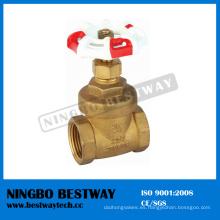 Fabricante de válvula de compuerta de latón forjado Wog 200 (BW-G03)