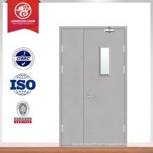 Porta de porta principal de design mais recente portas de porta de madeira exteriores baixas para hotel
