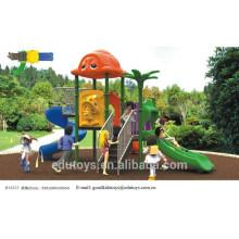 B10223 Günstige Kindergarten Plastik Spielplatz, Outdoor Spielzeug
