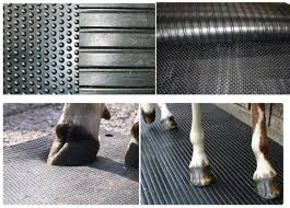 hammer top rubber cow mats