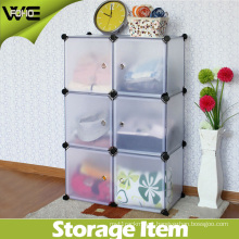 6 Cube Modular Storage Organizer Closet Bookcase with Many Colors Available