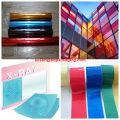 cor PET mylar filme para fita adesiva