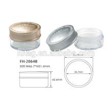 Fábrica de envases de polvos compactos sueltos