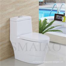 Nouvelle Arrivée Sanitaires Wares Salle De Bains Une Pièce Siphonic Toilet Bowl (8112)