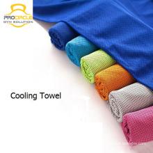 Procircle bestes kundenspezifisches Microfiber-Yoga-Matten-Tuch-nicht Beleg-abkühlendes Tuch