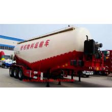 Camión de remolque de tanque de cemento a granel de 3 ejes 55-65CBM