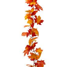 2016 популярный Осенний кленовый лист золотой лист венок