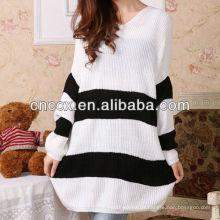 12STC0612 Pulloverkleid in Übergröße