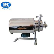 pompe centrifuge de transfert de lait d'acier inoxydable