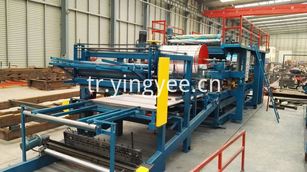 EPS sandwich roof panel production line