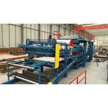 Sandwich Wall Panel Membuat Mesin Line