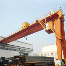 25T/30T Double Girder Semi Gantry Crane
