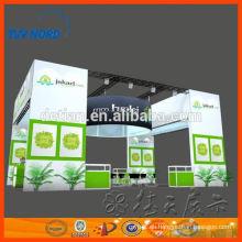 stand de exposición de dos pisos stand de exhibición de stand de dos pisos con servicio de construcción y bulid